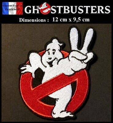 Écusson Brodé Thermocollant NEUF Patch Embroidered SOS Fantômes Ghostbusters (B)