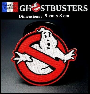 Écusson Brodé Thermocollant NEUF Patch Embroidered SOS Fantômes Ghostbusters (A)