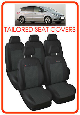 FORD S-MAX MK1 2006-2015 5 SEAT ARTIFICIAL LEATHER TAILORED SEAT COVERS
