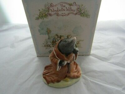 Mole   Wind In The Willows  Royal Albert With Original Box Aw 4 Doulton