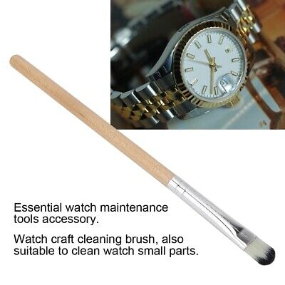 Watchmaker Dial Crystal Glass Cleaning Brush Watch Dust Remover Clean Tool Kit