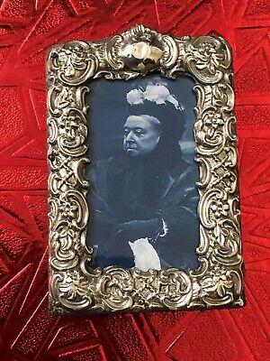 Sterling Silver Photo Frame - William Devenport - Birmingham - 1900