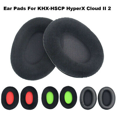2x Replacement Ear Pad Cushion Cover Earpad for Kingston HyperX Cloud II