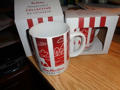 Tim Hortons Mugs - 2 Travellers Collection 2016  - Canada - NEW