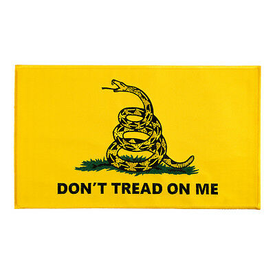 Don't Tread On Me Yellow Gadsden Flag Patch, Patriotic Patches