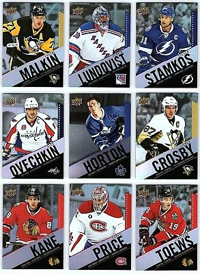 2015-16 UD TIM HORTONS COMPLETE BASE SET 1-100 + CL Set Crosby Price PACK FRESH!