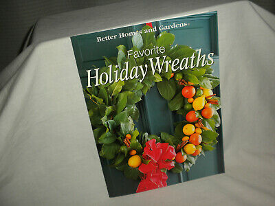 #17 Better Homes & Garden FAVORITE HOLIDAY WREATHS BOOKLET ©2003 #0696210711