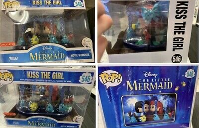 Funko Pop! Little Mermaid Kiss The Girl Movie Moment Target Exclusive PREORDER