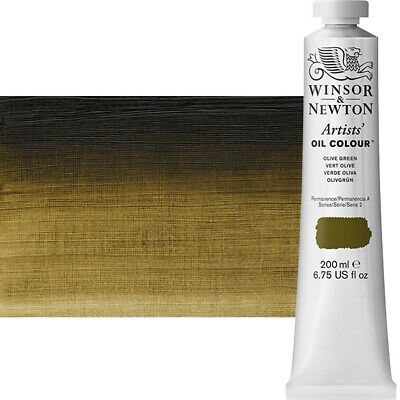 Winsor & Newton Artists' Oil Color 200 ml Tube - Olive Green