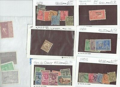 HUGELY DISCOUNTED (3-5% OF CATALOG) very old stamps, see variety of countries