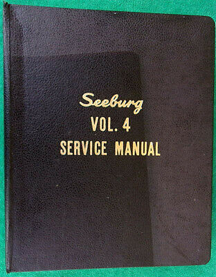 1960 Seeburg Jukebox Select-O-Matic AQ Q AY 100 160 222 Master Service Manual