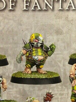 Blood Bowl The Greenfield Grasshuggers 1x Hefty Halfling Team both head options