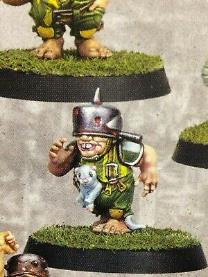 Blood Bowl The Greenfield Grasshuggers 1x Hopeful with Ferret (B) Halfling Team