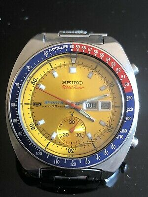 3990a6a5e Vintage SEIKO Automatic Watch/ SEIKO 5 SPORTS SPEED TIMER 6139-6000 #6