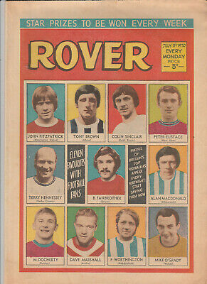 ROVER Comic 11 July 1970 - Football & Adventures
