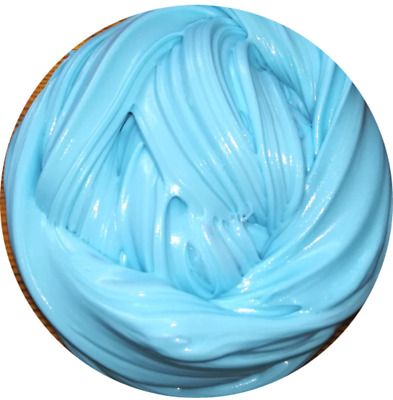 Baby Blue Fluffy Slime Floam Putty Toy Free Activator UK Seller Free Activator