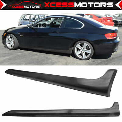 FITS 08-12 VOLKSWAGEN CC Poly Urethane Side Skirt Bodykit Euro Style