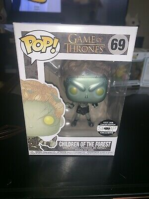 *small damage* Funko POP! Game of Thrones: Metallic Children Of The Forest
