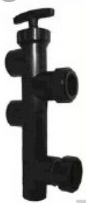American Products Filter Valve 50290211 Push Pull ABS w/Unions
