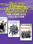 POLICE ACADEMY THE COMPLETE COLLECTION (DVD, Disc Set) 7 Movies FREE SHIPPING