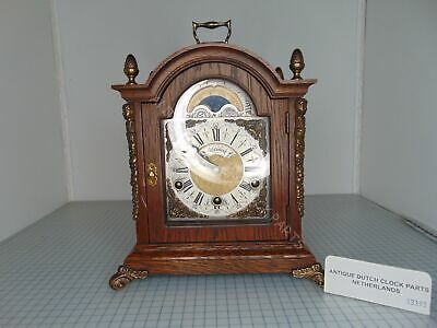 Warmink Table Clock With 3 Melodies With Ave Maria Chime