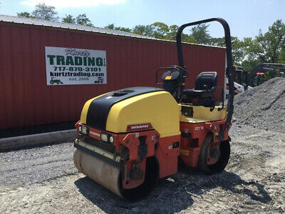 "2014 Dynapac CC 1200 48"" Double Drum Asphalt Roller w/ Only 900Hrs Coming Soon!"