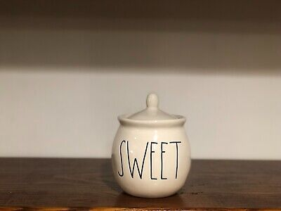 Rae Dunn Artisan Collection By Magenta SWEET Small Canister Container Bowl