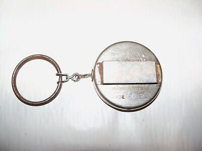 Key-Bak CTL Company Metal Retractable Belt Key Chain Wausau Wisconsin vintage