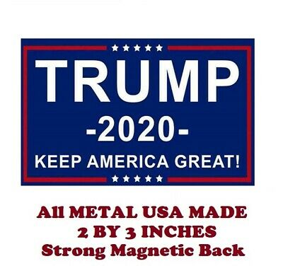 SM142- Donald Trump 2020 Political Vote 2 by 3 Inch Metal Refrigerator Magnet