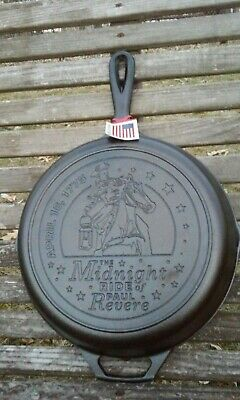 Lodge 10.25 Cast Iron Skillet - The Midnight Ride of Paul Revere - Made in USA