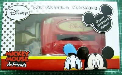 Disney Mickey Mouse - Die Cutting Machine - Bnib