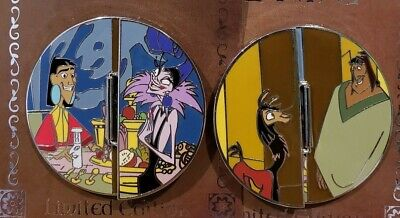 DISNEY ONCE UPON A TIME Pin Emperor's New Groove Yzma Kuzco Pacha Kronk LE New