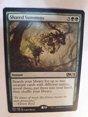 Shared Summons Core Set 2020 NM MTG