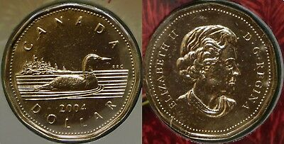 2004 Canada Loonie Sealed in Cellophane