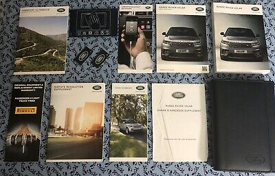 2016 LAND ROVER Range Rover Sport Owners Manual 1-3 Days