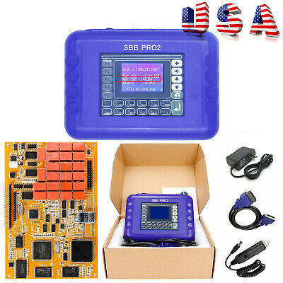 SBB PRO2 Auto Key Programmer Immo Smart Remote Transponder Chip With Wall Plugin