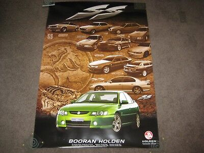 Holden  Rare Poster..ss Hq Vk Vl Vp Vy  Commodore Ss
