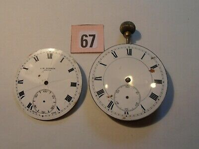 Two Pocket Watch Dials