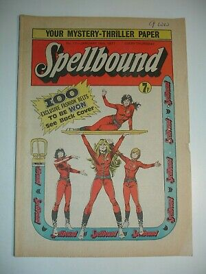 SPELLBOUND COMIC No 17   15th January  1977