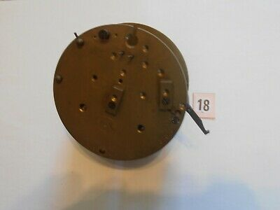 Brass French Clock Movement