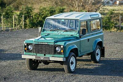 Land Rover 90 Factory V8 Station Wagon 41,000 Miles From New