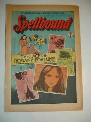 SPELLBOUND COMIC No 36      28th May 1977