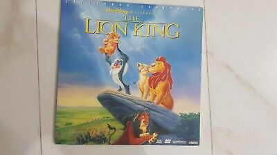 Lion King Laserdisc