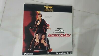 Licence to Kill Laserdisc