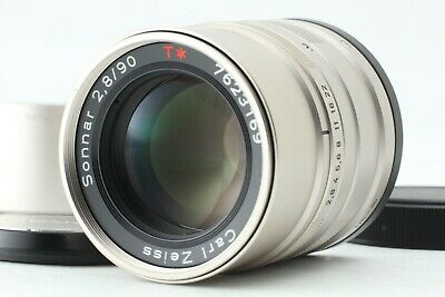 【 NEAR MINT+ 】Contax Carl Zeiss Sonnar 90mm f/2.8 T*  for G1 G2 from Japan #268