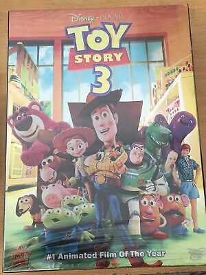 Toy Story 1-3 - DVD BOX SET *NEW/SEALED* SAME DAY DISPATCH - FREE P&P