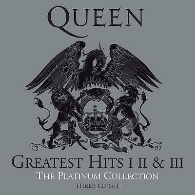 Queen Greatest Hits (CD)The Platinum Collection 1,2&3 New Sealed-FREE P&P