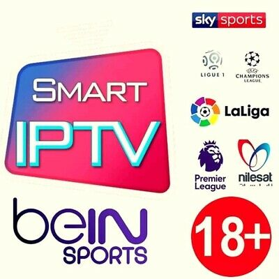 Smart iptv abonnement 12 mois CHAINES FULL HD SD VOD SÉRIES,vlc mag m3u Android