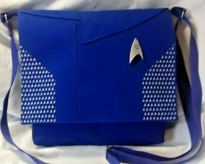 Star Trek Discovery Communicator Blue Duty Uniform Silver SCIENCE Badge Burnham