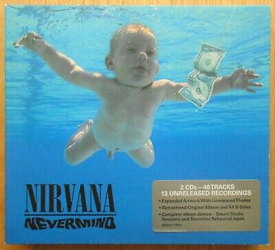 Nirvana Nevermind 20Th Anniversary Deluxe Edition 2Cd Set Kurt Cobain Dave Grohl